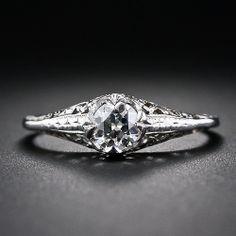 .40 Carat Diamond Filigree Engagement Ring