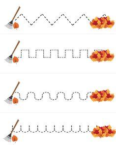 Free Fall Printables For Your Preschooler Or Kindergartener