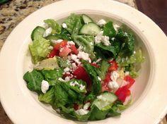 Homemade Greek Salad Dressing & Greek Salad Recipe | 5DollarDinners.com