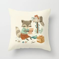 #Pillow #cushion #kids by Teagan White | Society6 via Kinderkamerstylist