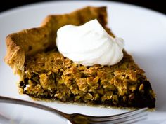 Chocolate Oatmeal Pie, based on pie from Four and Twenty Blackbirds (Article links to recipe)