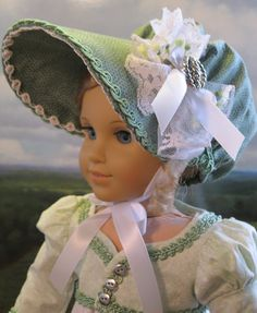 Springtime Walking Dress and Bonnet by petrassewingbox (1/13) | eBay