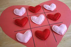 Valentines Tic Tac Toe