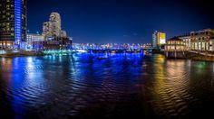 Night shots around Grand Rapids, MI. #KCAD