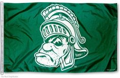 Michigan State University Gruff Flag