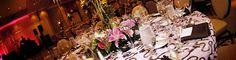 Table settings in Mediterranean Ballroom