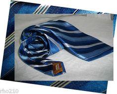 Blue Stripe Neck Tie