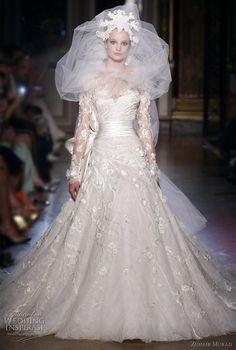 Zuhair Murad Fall/Winter 2011-2012 Couture | Wedding Inspirasi