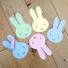 Easter bunnies garland (tips)