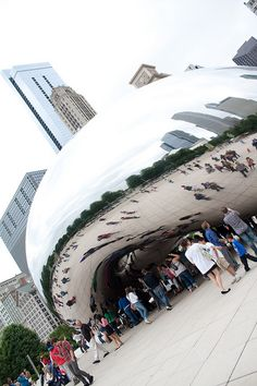 CHICAGO - DO: Take a photo in front of The Bean #LoveYourCityMore