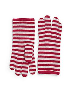 Portolano - Minerva Striped Knit Tech Gloves