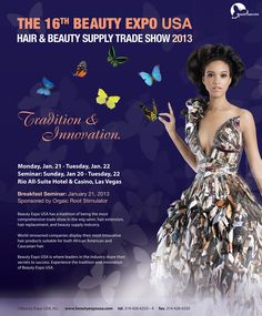 The 16th Beauty Expo USA Trade Show January 21-22, 2013 in Las Vegas