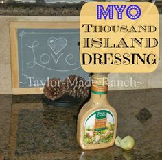 Homemade Thousand Island Dressing Using 3 Ingredients And 3 Minutes Time!  #TaylorMadeRanch