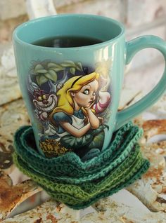 Cute Alice mug.
