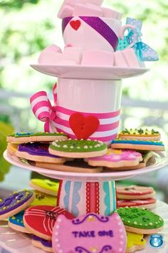 Mad Hatter Sweets Stand