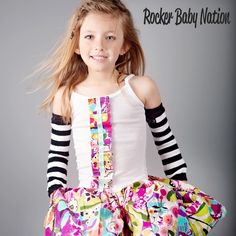 Rocker Baby Nation - I'm a big fan of arm sleeves and leggings!