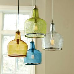 Another beautiful use of recycled goods!