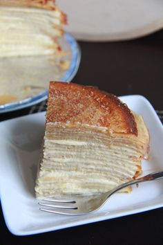 Mille feuille crepe cake - what!