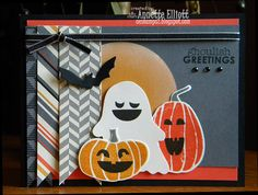 SSC82: Ghoulish Greetings!: Stampin' Up! Halloween