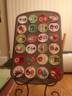 My first advent calendar!