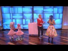 Sophia Grace and Rosie on Ellen feat Nicki Minaj