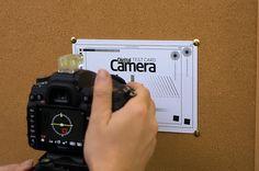 Test your lens' sharpness