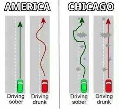 Chicago humor.