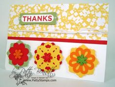 triple layer punches from Stampin' Up!
