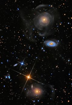The Shell Galaxy in Pisces.