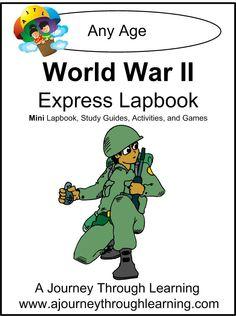 World War ll  Express (Quick) Lapbook