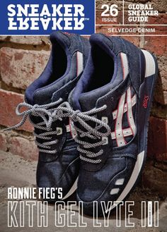 Ronnie Fieg x Asics Gel Lyte III Selvedge Denim-Preview #sneakers #kicks