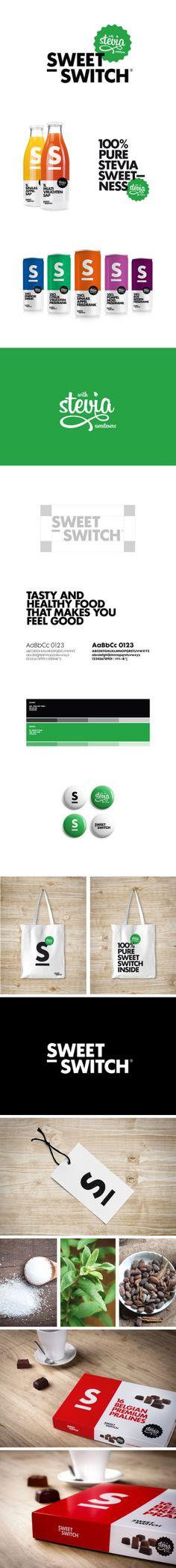 Sweet Switch by skinn , via Behance Interesting stevia #identity #packaging #branding PD