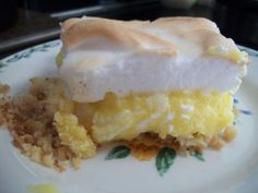 Lemon Meringue:Crust-1c  almd flour,1TBP truvia,1 egg,1/8c h2o,1/3c butter.Mix,press in 11x9 pan, bake 15 min,350 degrees.Filling- In sauce pan;4 eggs,4 egg yolks(save whites for meringue),1/2c  lemon juice,3/4c truvia,1/2tsp lemon extract,4TBP butter.Whisk,bring to boil over low heat.When thick,pour on baked crust.Meringue-4 egg whites,½tsp cream tartar,¾c powder xylitol.Beat egg whites & cream tartar.When stiff add xylitol,stir gently.Pour on filling,bake 400 degrees until nice and brown