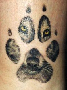 bear, tattoo ideas, first tattoo, wolf tattoos, a tattoo, prints, dog, face tattoos, eye