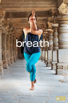 Focus on your breath