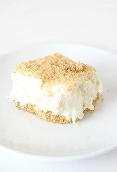 Pineapple Cheesecake...Who knew? This recipe is definitely a must for my pineapple addiction!...and its no bake! win-win!.