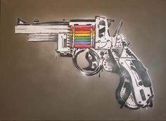 Mark Fitz - Stencil Art