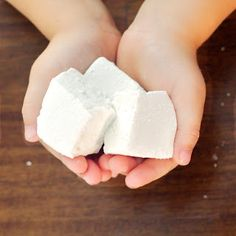 Homemade Marshmallows for all natural S'mores!