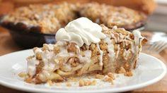 Cinnamon Roll Dutch Apple Pie - Recipe from Pillsbury