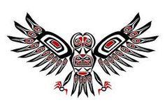 native art owl