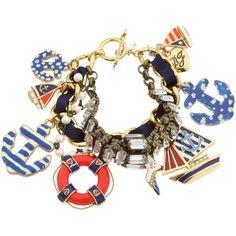 Betsy Johnson- Yacht Club bracelet.