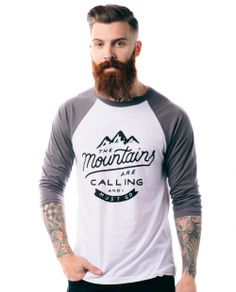 The perfect shirt for the mountain man :) Even better: It helps provide service dogs for kids with disabilities!!