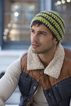 Free Crochet Pattern: Greenpoint Grunge Cap