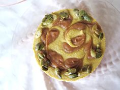 Mini Raw Pumpkin Caramel Cheesecake @FragrantVanillaCake