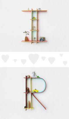 Alphabet frames - love this!