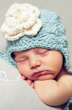 Crochet hat | Newborn photo prop - crochet pattern