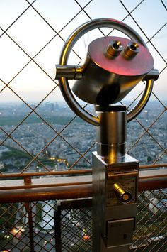 Top of the Eiffel Tower.