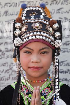 Akha Hilltribe Girl.
