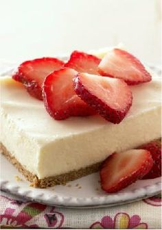 PHILADELPHIA New York-Style Sour Cream-Topped Cheesecake-- Philly meets NYC in this classic pairing of cheesecake and graham cracker crust. A deliciously sweetened sour cream layer ups the ante on this version.
