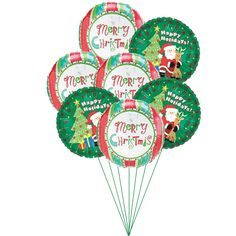 Happy Holidays Balloons  Price:  US$29.99  A real festive colors come alive when it is presented in most adorable way. A combo-bunch of green and red balloons will surely make someone's year bright and colorful.